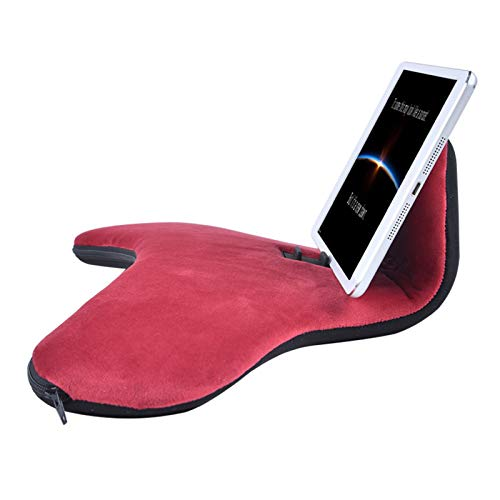 Kissen Tablet Halter Tablet Kissenständer Desktop Handyhalter Multi-Angle Viewing Tablet Ständer Kissen Lazy Halter Ständer für Ereaders Telefone Bücher
