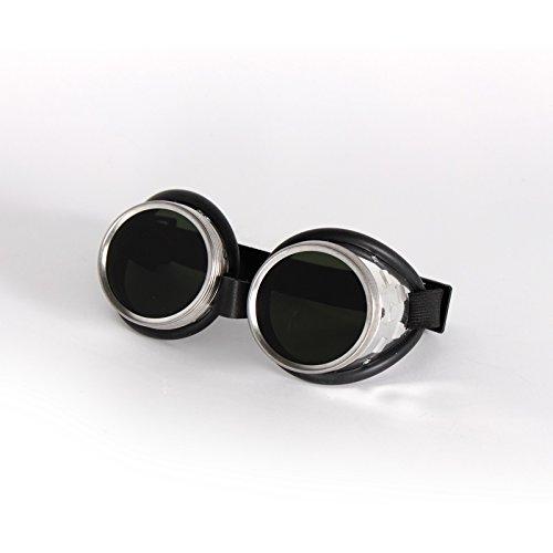 Schweißer Schraubringbrille Schweißerbrille Schutzbrille DIN, Schutzstufe:DIN 4