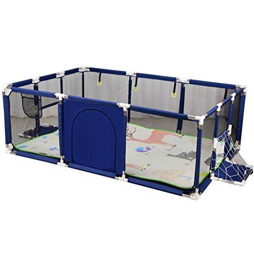 HYE-PLAYPEN Recinto per Bambini Recinto per Bambini Recinto per Bambini Recinto di Sicurezza per Bambini Casetta Portatile per Bambini con stuoia strisciante, (225x129x66cm)