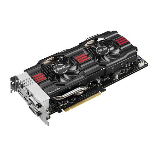 Asus NVIDIA GeForce GTX 770 DirectCU II Grafikkarte (PCI, 2GB GDDR5 Speicher, DVI, 1 GPU)