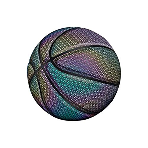 Sale!! CoolEnding Reflective Luminous Street Basketball Battery-Free Light Up Basketball Glowing Bal...