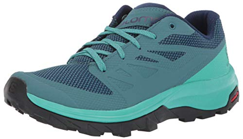 SALOMON Shoes Outline, Zapatillas de Trekking Mujer, Azul (Hydro./Atlantis/Medieval Blue), 38 2/3...