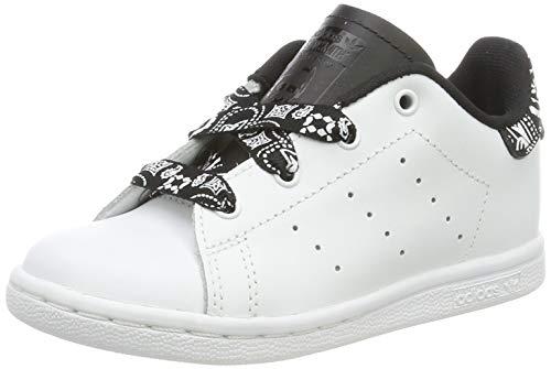 adidas Unisex Baby Stan Smith I Gymnastikschuhe, Weiß (FTWR White/FTWR White/Core Black FTWR White/FTWR White/Core Black), 26 EU