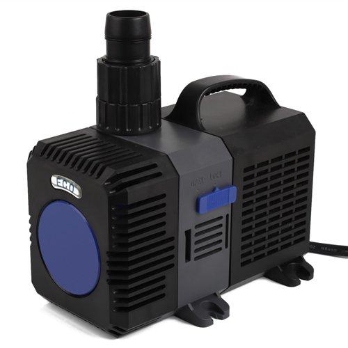 Forever Speed Super ECO Teichpumpe Filterpumpe Energiespar Wasserpumpe Koiteich Bachlaufpumpe (3000-12000L/H) 10000L/H