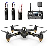 Hubsan H501S X4 Brushless Drone GPS 1080P HD Camera 5.8Ghz FPV 2.4Ghz RC Quadcopter With H906A Transmitter Black Advanced Version