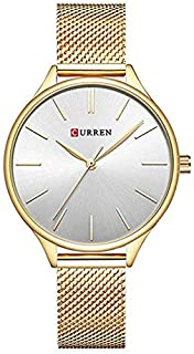 Curren Casual Watch For Women Analog Stainless Steel - 9024