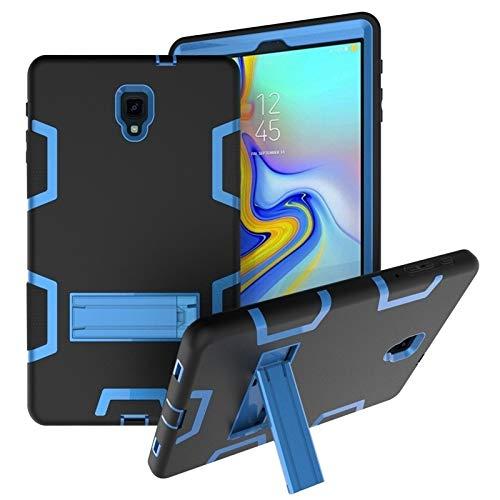 HH-Tablet Funda para Samsung Galaxy Tab A 10.5 T590 PC a prueba de golpes + funda protectora de silicona, con soporte hangma (color negro y azul)