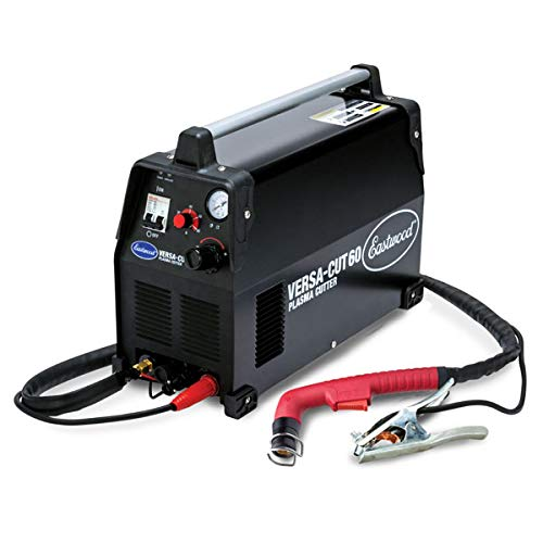 Eastwood Versa Cut 60 Amp Plasma Cutter Nema 6-50R Plug 220V Input Amperage and Air Pressure Setting