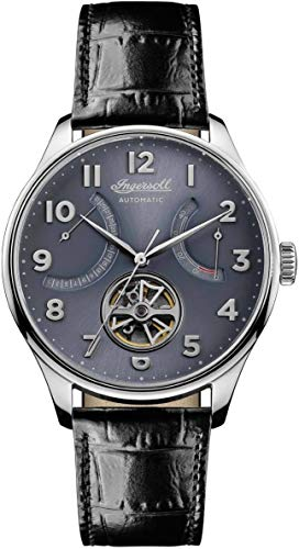 Ingersoll Mens Analogue Classic Automatic Watch with Leather Strap I04604