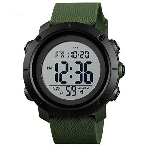 Reloj deportivo de moda/Reloj electrónico de alumbrado multifuncional EL Backlight/Reloj digital de...