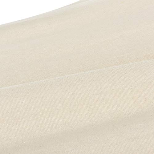 casa.pro Hängematte bis 150 kg Hängeliege für Innen und Außen Stabhängematte Camping Outdoor 200x80cm Creme - 4