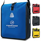 Forrider Fahrradtasche Wasserdicht für Gepäckträger [22L Volumen] mit Schultergurt |...