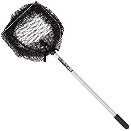 8-Inch Fishing Net – Lightweight Aluminum, Steel and Nylon Bait Net for...