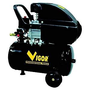4104xpYipFL. SS300  - Vigor Vca-24L Compressori, 220 V, 1 Cilindro, Trasmissione Diretta, 2 CV, 24 l