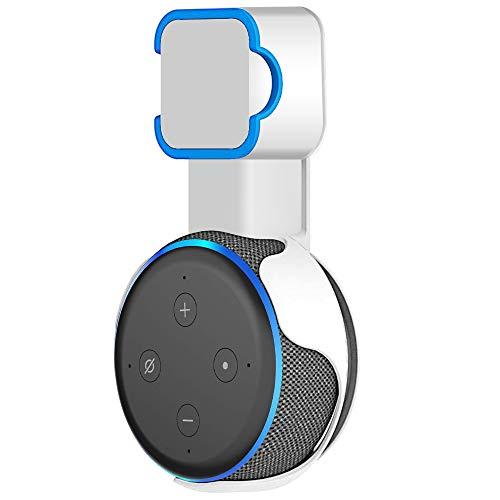 oGoDeal Supporto da Parete per Echo Dot di 3a Generazione - Bianco