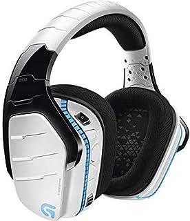 Logitech G933 Artemis Spectrum Snow Wireless 7.1 - Auriculares para Videojuegos, Color Blanco (renovado)