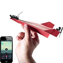 "Bring your favorite ""blast from the past"" to the present when you turn your paper airplane into a remote-controlled flying Machine! This multiple award-winning conversion kit features a crash-resistant design and will give your paper plane a massive ..."