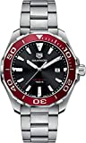 Reloj TAG Heuer Aquaracer 300M bisel rojo 43 mm WAY101B.BA0746