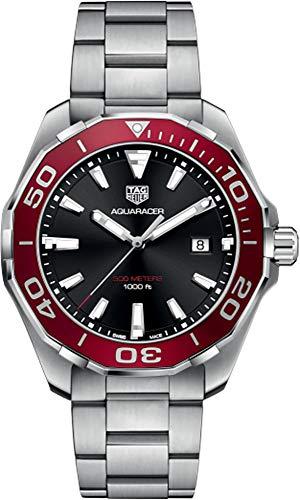 Tag Heuer Aquaracer 300M rote Lünette 43mm Herrenuhr WAY101B.BA0746