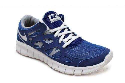Nike Free Run+ 2 EXT – 536746410 – Königsblau, Weiß, Grau, - Königsblau Weiß Grau - Größe: 35.5 EU
