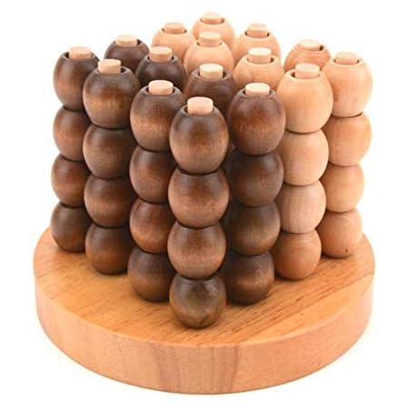 立体四目 並べ ゲーム 四目並べ 五目並べ の立体番です。天然 木製 子供 大人