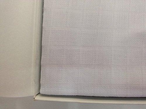 Toallas de gasa 100% algodón, 6 unidades