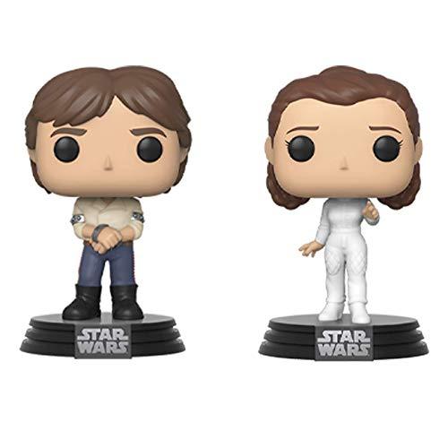Funko Pop Star Wars Han and Leia 2-pack