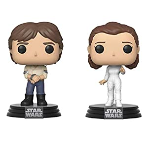 Funko Pop! Star Wars: Star Wars - Han and Leia 2-Pack - 4104zcWsHsL - Funko Pop! Star Wars: Star Wars – Han and Leia 2-Pack