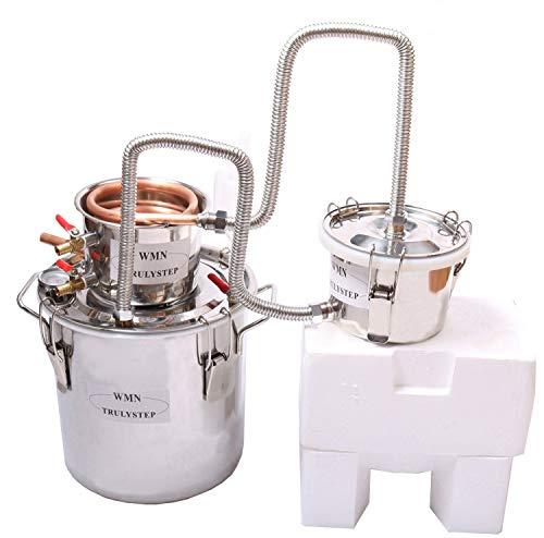 30L Kit de destilación de acero inoxidable,para la elaboración casera de vino,...