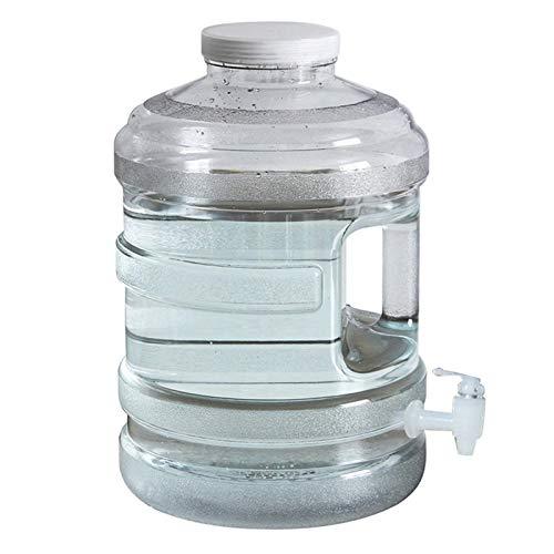 persiverney-AT Cubo De Almacenamiento De Agua 10L 15L con Grifo Cubo Plástico Portátil del Agua Potable del Hogar De La PC Contenedor De Agua Al Aire Libre opportune