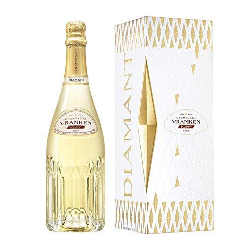 Champagner Vranken - Diamant Brut - In einer Geschenkbox 1 * 75cl