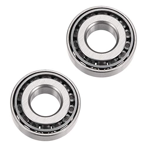 uxcell 30202 Tapered Roller Bearing Cone and Cup Set, 15mm Bore 35mm OD 11mm Thickness 2pcs