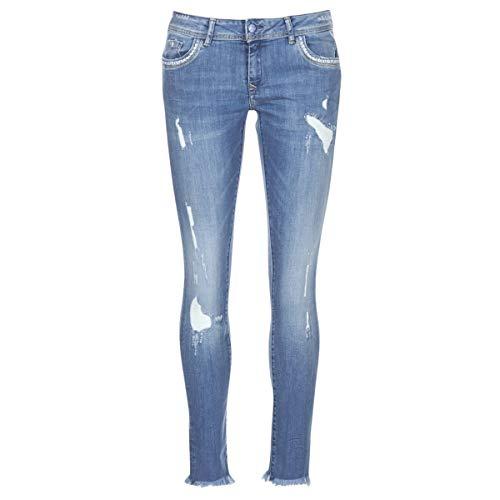 Kaporal Jean Skinny Femmes - PIAE18W7JCRD-1-29 Blue Destroy