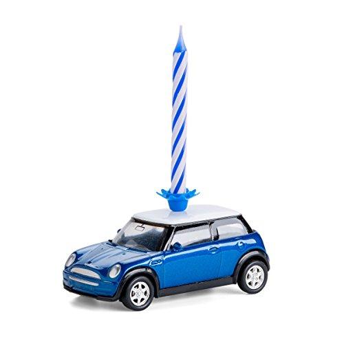 corpus delicti :: Kerze auf Rädern - Mini Cooper – das Geburtstagsgeschenk für alle Mini-Fans (blau) (20.3K)