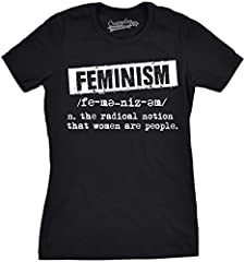 Womens Feminist Definition Cool Empowerment T-Shirt For Ladies - Camiseta para Mujer