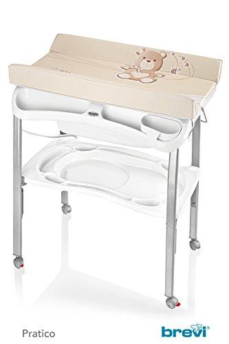 Praktische Babybadewanne, Unisex Taupe