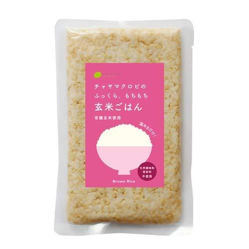 CHAYA(チャヤ) マクロビオティックス レトルトご飯 玄米ごはん プレーン(160g) 【チャヤ マクロビオティックス】