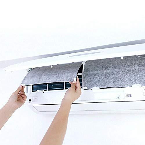 LINKLANK 10 filtros de aire acondicionado, filtros de cabina de aire acondicionado antipolvo, filtros de algodón, polvo limpio para el aire acondicionado en el hogar