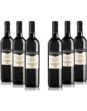 Sant'Orsola Montepulciano DOC Abruzzo - Vino Rosso - Pacco da 6x750 ml