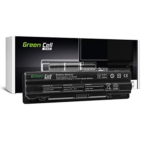 Green Cell Pro Serie JWPHF/R795X Laptop Akku für Dell XPS 15 L501x L502x 17 L701x L702x (Original Samsung SDI Zellen, 6 Zellen, 5200mAh, Schwarz)