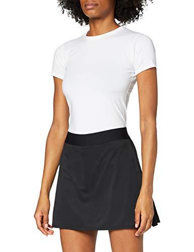 adidas Club Long Skirt Falda, Mujer, Negro/Plamat/Negro, M
