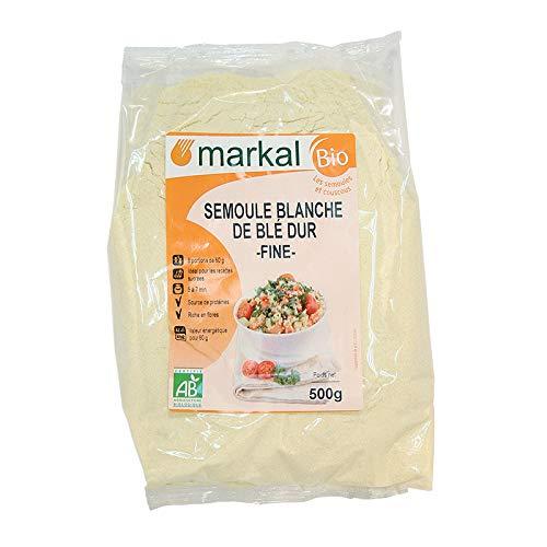Sémola blanca de trigo duro Fine 500G, Markal