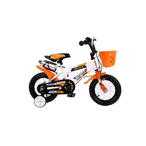 WEHOLY Fahrradreise Kinderfahrrad Jungen 4-7 Jahre Babytrage 16 Zoll Kinderfahrrad Kinderfahrrad Multicolor