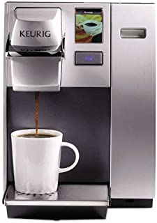 officepro k155 premier brewing system single cup silver