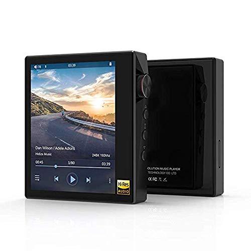 YWT Reproductor de música MP3 sin pérdida de Alta resolución, Reproductor de Audio Bluetooth Hi-Fi con Pantalla táctil Completa, con LDAC/aptX/FLAC/Hi-Res Audio/Radio FM