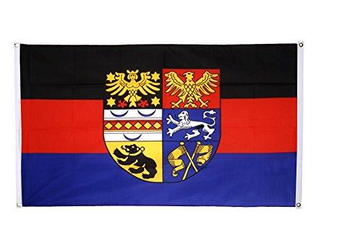 Flaggenfritze® Balkonflagge Deutschland Ostfriesland
