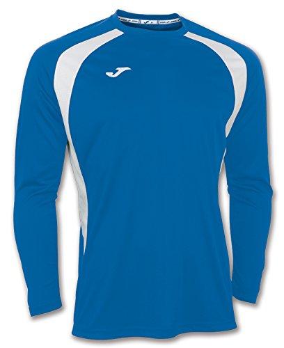 Joma 100015.702 - Camiseta de equipación de Manga Larga para Hombre, Color Azul Royal/Blanco, Talla 2XL-3XL