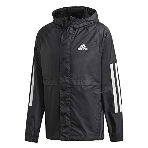 adidas Herren BSC 3S Wind JKT Sport Jacket, Black, M