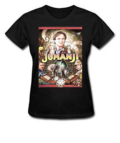 Camiseta e Babylook Jumanji infantil robin (Camiseta - G, Preto)