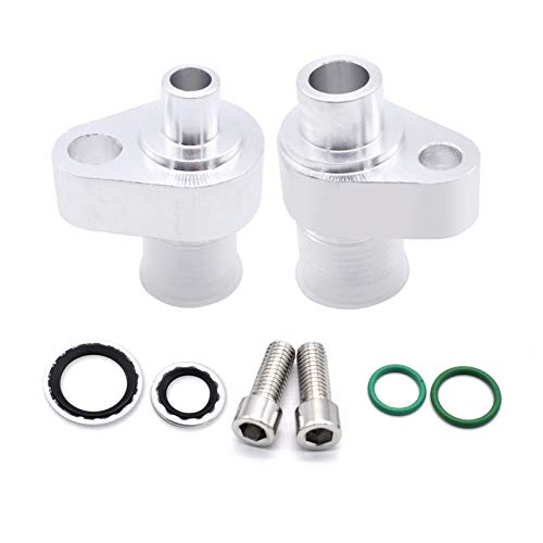 GoolRC LS Swap AC Compressor Adapter Fittings Kit for Denso 10S17F & 10S20F